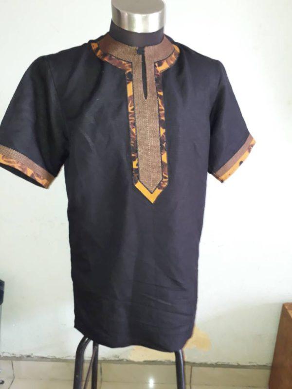 meilleur service 6846f b084d Chemise homme Batik brodée